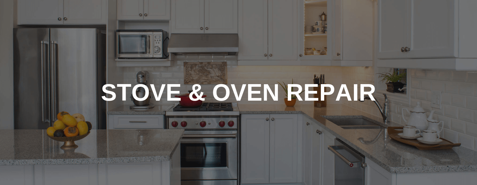 stove repair oakland